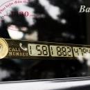 Tấm dán số điện thoại trên kính xe ô tô