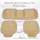 Bộ lót ghế ô tô bi gỗ